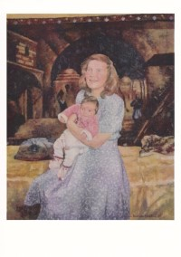 Mother and Child (Postcard)
