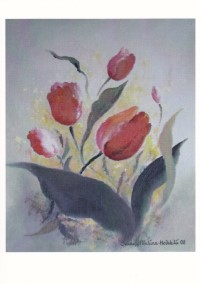 Celebrating Tulips (Postcard)