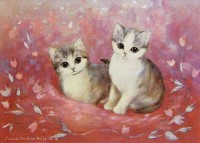 Little Kitties (Postcard)